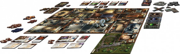 Mansions of Madness in play
