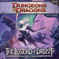 Dungeons & Dragons: The Legend of Drizzt Board Game - Board Game Box Shot