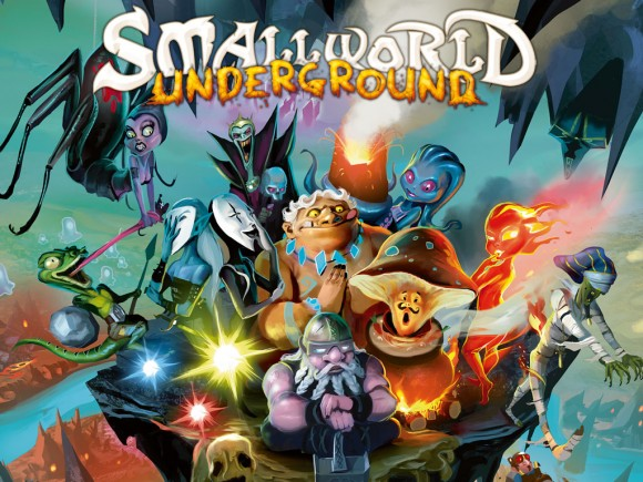 Small World Underground title and characters