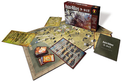 Axis & Allies D-Day contents