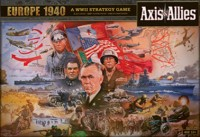 Axis & Allies Europe 1940 - Board Game Box Shot