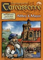 Carcassonne: Abbey and Mayor - Board Game Box Shot