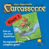 Carcassonne: River I - Board Game Box Shot