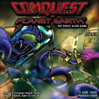 Conquest of Planet Earth - Board Game Box Shot