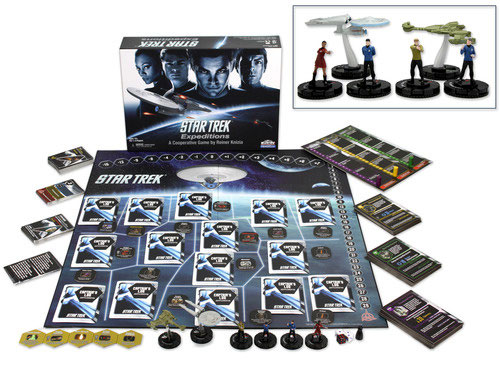Star Trek Expeditions game components