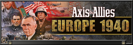 Axis & Allies: Europe 1940 title