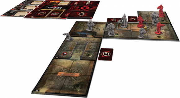 Gears of War: The Board Game game in play