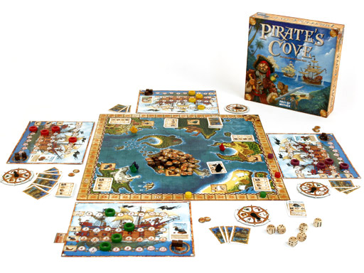 Pirate's Cove game in play