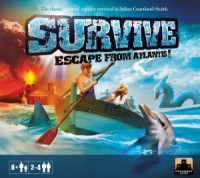 Survive: Escape from Atlantis! - Board Game Box Shot