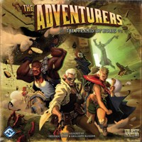 The Adventurers: The Pyramid of Horus - Board Game Box Shot