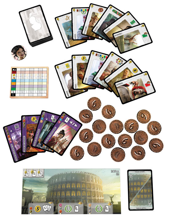 7 Wonders: Leaders contents