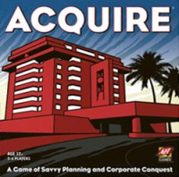 Acquire - Board Game Box Shot