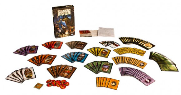 Arkham Horror: Curse of the Dark Pharaoh Revised Edition contents