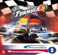 Formula D: Valencia and Hockenheim - Board Game Box Shot