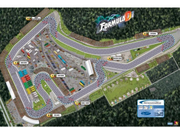 Formula D Hockenheim map