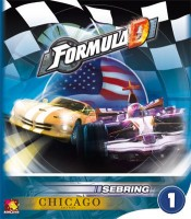 Formula D: Sebring and Chicago East Park - Board Game Box Shot