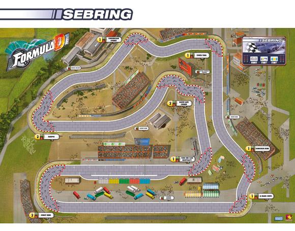 Formula D Sebring map