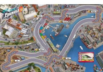 Formula D Valencia map