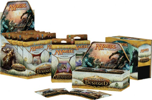 Mirrodin Besieged boxes