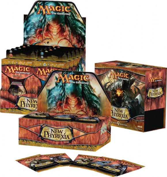 New Phyrexia boxes