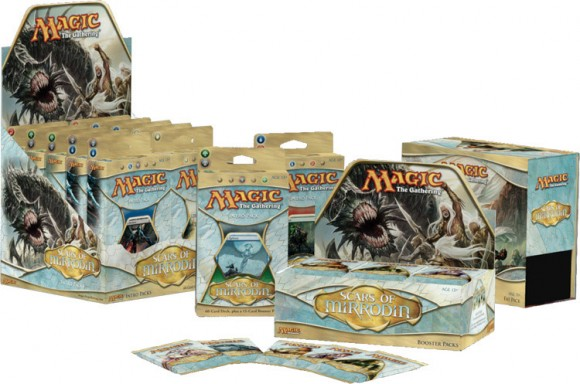 Scars of Mirrodin boxes