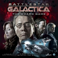Battlestar Galactica: The Board Game - Board Game Box Shot