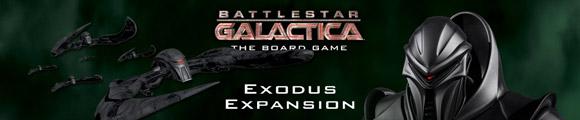 Battlestar Galactica: Exodus Expansion title