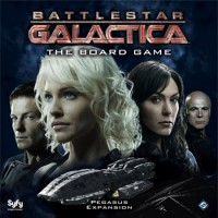 Battlestar Galactica: Pegasus Expansion - Board Game Box Shot