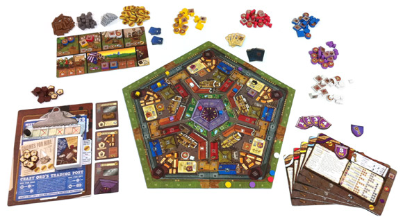 Belfort game components