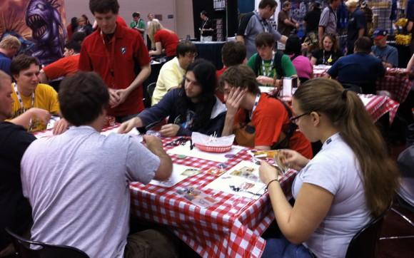 Food Fight demos at Gen Con 2011