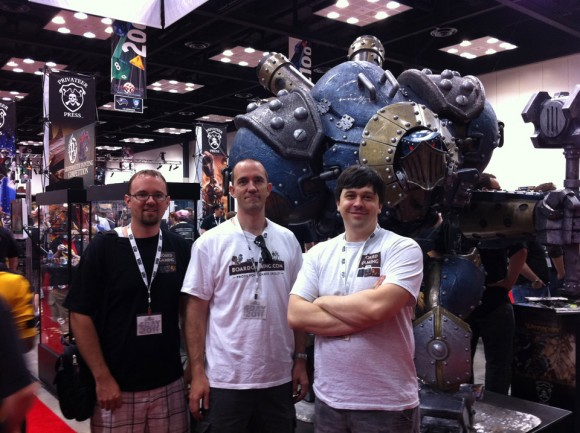 BG team at Gen Con 2011