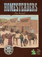 Homesteaders - Board Game Box Shot