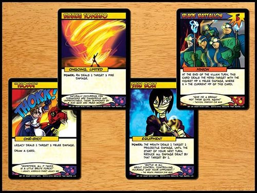 Sentinels of the Multivers card types