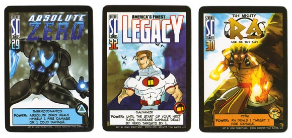 Sentinels of the Multiverse Heroes
