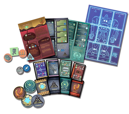 The Ares Project game contents