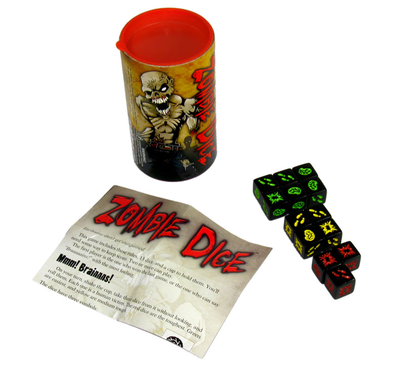 Zombie Dice boardgaming review