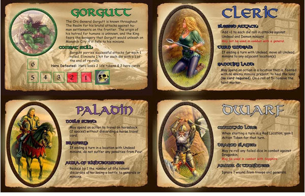 Defenders of the realm Players