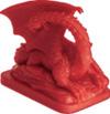 Blue Moon City Red Dragon