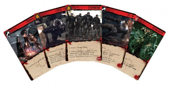 Gears of War: The Board Game order cards