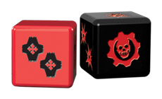 Gears of War dice