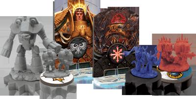 Horus Heresy Game Pieces
