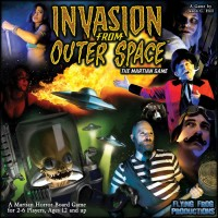 Invasion From Outer Space - Board Game Box Shot