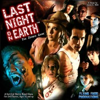 Last Night on Earth, The Zombie Game - Board Game Box Shot