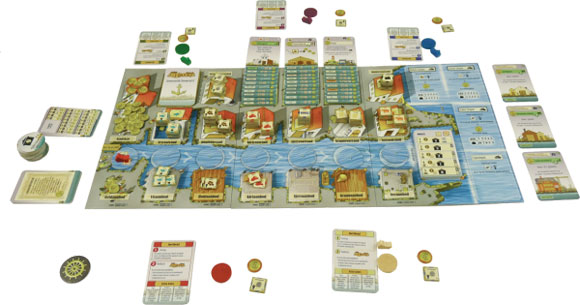 Le Havre Game Components