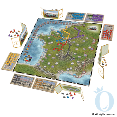 Paris Connection Game Board
