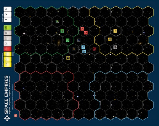 Space Empires Map