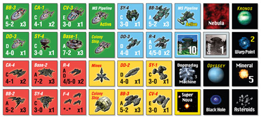 Space Empires 4X Game Components