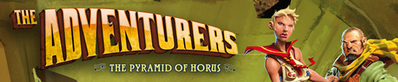 The Adventurers: The pyramid of horus title