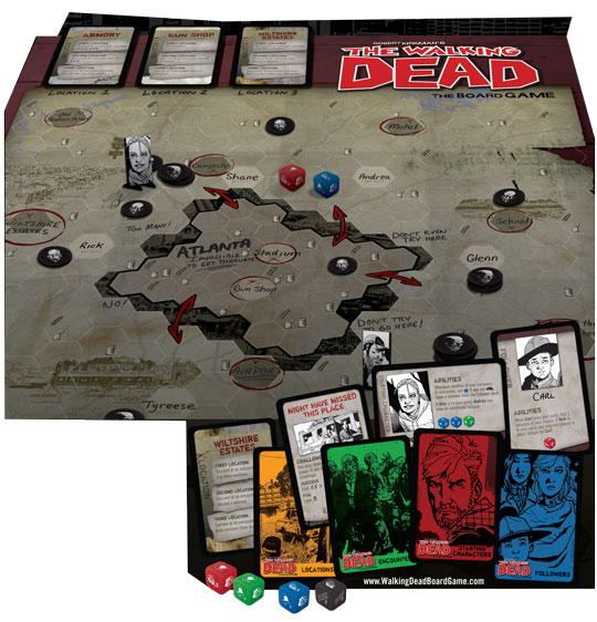 The Walking Dead: The Board Game contents
