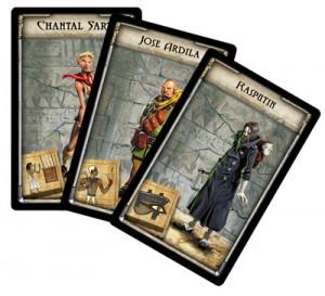 Adventurers cards